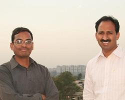 Progressive download: Shiva Bayyapunedi (left) and B.Vamshi Reddy, co-founders and directors, Apalya Technologies.