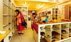 Crafting success: The Kamala store near Connaught Place has wide-open spaces and displays explaining the history of individual crafts.