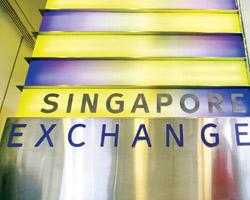 Singapore Exchange Ltd, or SGX, has 467 domestic and 255 foreign firms listed on it, including two Indian companies, Berger International Ltd and Meghmani Organics Ltd.