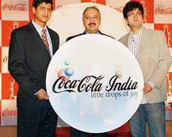 Venkatesh Kini, vice-president, marketing, Coca-Cola India; Atul Singh, president and CEO, Coca-Cola India and Prasoon Joshi, executive chairman and regional creative director, South and South-East As