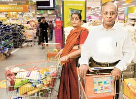 Narsimhan and wife Vatsala say they have completely stopped buying from their neighbourhood kirana shop