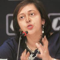 Growth Focus: A file photo of Swati Piramal, director of strategic alliances and communications at Nicholas Piramal