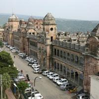 A view of the Mubarakh Mandi Palace in Jammu 23 August, 2007