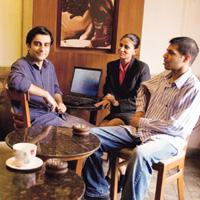 Second venture: Vivek Pahwa (left) feels the SNS space is now ready for a consolidation
