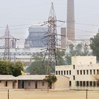 Feelinh the crunch: NTPC's power plant at Badarpur in New Delhi. India currently has a power generation capacity of 1,35,006MW, which is insufficient for the second fastest growing major economy in th