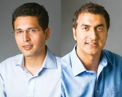 (Left to right) Rahul Khanna and Sumant Mandal, the India-focused investment team for Clearstone Venture Partners