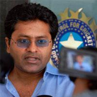 Lalit Modi, Vice-president, Board of Control for Cricket in India