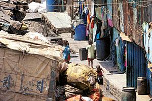 Dharavi houses some 57,000 families.