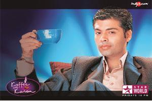 Target clientele: Guests on Karan Johar's hit TV talk show, 'Koffee with Karan', take home a Rs1.5 lakh hamper filled with gifts from companies that want the celebrities to sample their products.