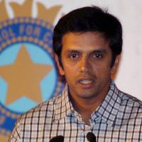 Rahul Dravid speaks to media persons during the unveiling of Indian Premier League by BCCI, in New Delhi on 14 September