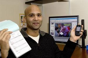 On top of the world: Tapan Parikh, 2007 Humanitarian of the Year