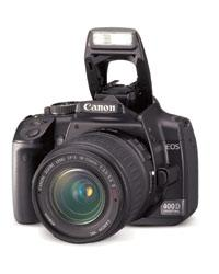 Canon for the people: For first-time digital users, the 400D camera may be the perfect option.