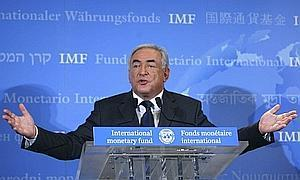 Advocating change: Newly nominated managing director Strauss-Kahn says the voting structure of the 185-member fund may have to be restructured to increase the participation of rising economic powers