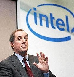 New horizons: Intel Corp. chief executive officer Paul S. Otellini.