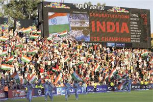 In celebration: The T20 World Cup was an entry point for new advertisers