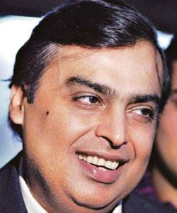 Talent hunt: Reliance Industries chairman Mukesh Ambani.