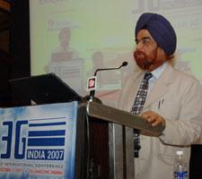 G S Grover, Member – Services, Department of Telecom, Govt. of India