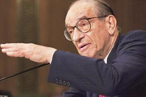 The orator: Criticism of Greenspan has grown since he stepped down as chairman of the US Federal Reserve.