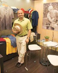Rahul Singh, chief executive of Better Than Before, sole         licensee of the Greg Norman Collection in India