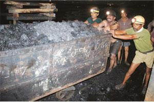 Power push: Mined and refined coal from this mine owned by Singareni Collieries Co. Ltd in Andhra Pradesh is mostly consumed by the NTPC power plant in Ramagundam.