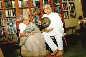 For a cause: Jagdish and Kamla Mittal