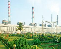 NTPC's Singrauli power plant in Uttar Pradesh. The power major has a generation capacity of 27,404MW at present, which it plans to increase to 50,000MW by 2012