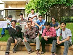 The National Centre for Biological Sciences team that took home the 'best model' special prize