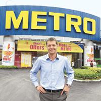 Getting personal: Martin Dlouhy, managing director, Metro Cash & Carry, India.