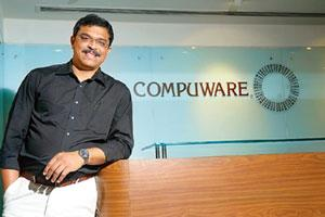Infringed: Compuware Corp. vice-president for international operations Raaj N. Shinde.