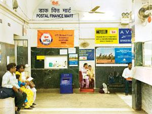 Get connected: AWestern Union counter at New Delhi's General Post Office. P.K. Gopinath, director, Postal Staff College of India, says deals channelled by Western Union through postal network went up