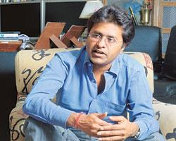 Lucrative business: BCCI vice-president Lalit Modi. He says there is a big difference between sponsorship and ownership as a franchisee.