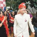 Sir Richard Branson at an event in New Delhi on Monday