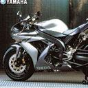The Yamaha YZF-R1 sports a 1,000cc engine