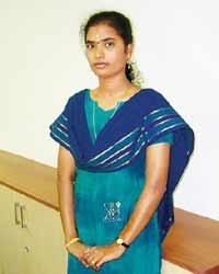 Weaving a dream: Aathi Lakshmi is completing her master's in business administration.