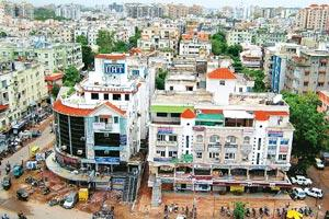 In the genes: A view of Ahmedabad, Gujarat's financial hub. Despite a marked preference among its people for direct investments in equity, assets under management in the state are on the rise.