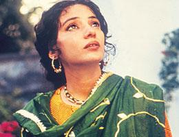 Shabana Azmi plays a feisty poet in In Custody (1993).