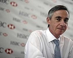 Thick of action: Sandy Flockhart, chief executive officer and global head of commercial banking, HSBC.