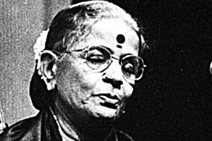In tune: M.S. Subbulakshmi performed her first concert at Madras Music Academy