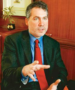 Joel Podolny, dean, Yale School of Management. Photo: Kedar Bhat / Mint