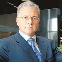 Watchful eye: Paul Calello, global head of investment banking and Asia CEO, Credit Suisse.