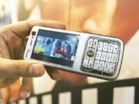 TV on the move: While broadcaster Doordarshan is the only company offering mobile TV services in the country, other players have video download options riding on relatively faster mobile phone technol