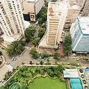 Packed avenues: A view of Mumbai's Nariman Point and Cuffe Parade. According to a recent CB Richard Ellis India survey, short supply of land in the city has pushed up rentals by 55% in the last one ye