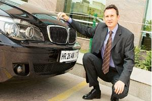Steady growth: BMW India president Peter Kronschnabl.