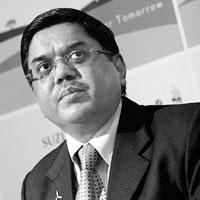 Comfortable: Suzlon Energy Ltd chairman Tulsi Tanti says the share sale will cut the company's debt to Rs5,275 crore from Rs6,400 crore.
