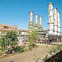 Under utilized: An NTPC plant at Gandhar in Gujarat. The company has seven plants fuelled by gas or liquid fuel. Some of them are currently operating at lower levels of efficiency because of shortage