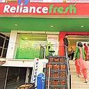 Big shopper: A Reliance retail outlet. The company plans to spend $6 billion on convenience stores, supermarkets and hypermarkets.