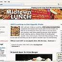Interesting read: Screen shot of Midtownlunch.com. The site is just 18 months old and gets about 2,000 readers daily.