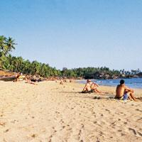 The arc idyll: The golden sand and shallow waters make Palolem beach in south Goa a perfect retreat. (Arjun Razdan/Mint)