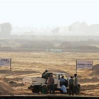 Gearing up: Construction in progress for the Tata Motors plant. (Photo: Indranil Bhoumik/ Mint)