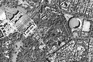 Fishing for images: A satellite image of Bangalore as seen from Cartosat-2, an IRS satellite launched by Isro in January last year.